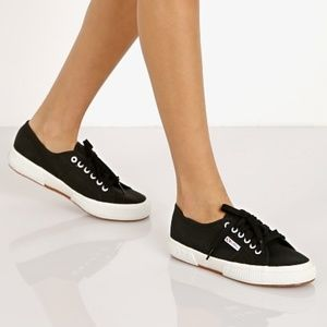 Superga 2750 Cotu Classic Black & White Sneaker